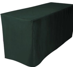 6' Ft. Fitted Table Cover Waterproof Table Cover Patio Shows Outdoor  10 Colors""