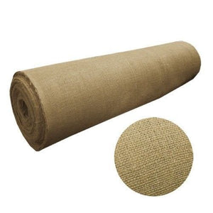 "100 Yards Roll 40"" W 10 Oz Burlap Premium Natural Vintage Jute Fabric Upholstery"""