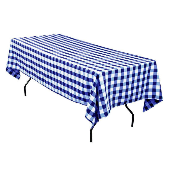 15 x Checkered Tablecloths 60