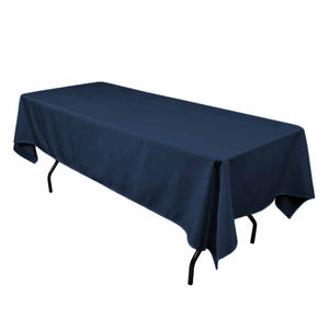 "24 pack 60""—102"" Seamless 100% Polyester rectangular Tablecloth 25 COLORS Dine"""