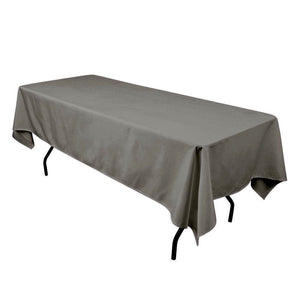 "36 pack 60""—102"" Seamless 100% Polyester rectangular Tablecloth 25 COLORS Dine"""