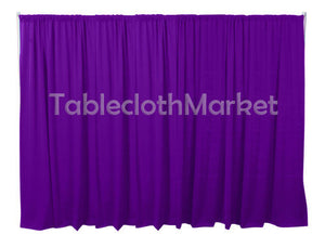 12 X 5 Ft Backdrop Background For Pipe And Drape Displays Polyester 24 Colors""