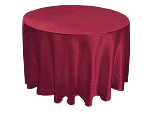 "20 Pack 132"" Inch Round Satin Tablecloth 21 Colors Table Cover Wedding Banquet"""