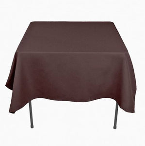 "40 pack 54"" x 54"" Square Overlay Tablecloth 100% polyester Wholesale Wedding"""