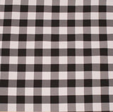 "15 Yards Checkered Fabric 60"" Wide Gingham Buffalo Check Tablecloth Fabric Decor"""