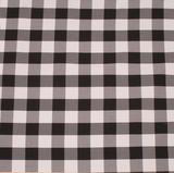 "10 Yards Checkered Fabric 60"" Wide Gingham Buffalo Check Tablecloth Fabric Decor"""
