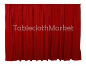 9 X 5 Ft Backdrop Background For Pipe And Drape Displays Polyester 24 Colors""
