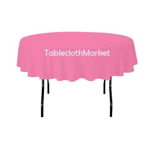 15 Pack 90 Inch Round Polyester Tablecloth 24 Color Table Cover