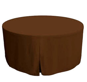 60 Inch round Polyester Table Cover Tablecloth Trade show Booth 18 COLOR""