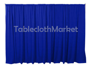 4 X 5 Ft Backdrop Background For Pipe And Drape Displays Polyester 24 Colors""