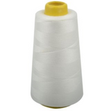 Polyester Thread Cones Spool Overlocking Sewing Machine 6000 Yards 21 Colors""