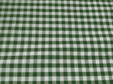 "25 Yards Checkered Fabric 60"" Wide Gingham Buffalo Check Tablecloth Fabric Decor"""