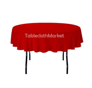 "6 Pack 108"" Inch Round Polyester Tablecloth 24 Color Table Cover Wedding Banquet"