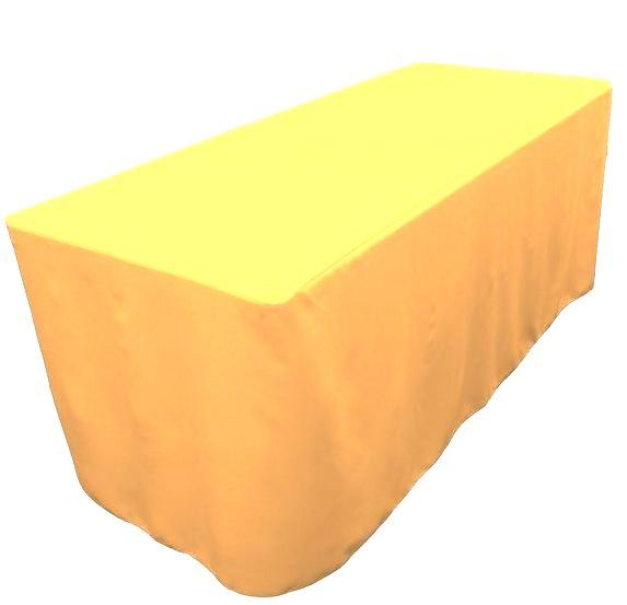 4' Ft. Fitted Table Cover Waterproof Table Cover Patio Shows Outdoor 10 Colors