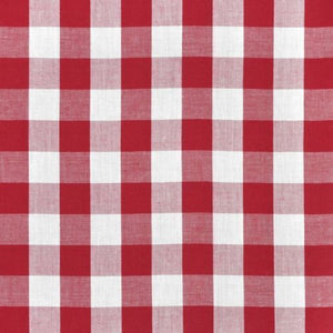 "5 Yards Checkered Fabric 60"" Wide Gingham Buffalo Check Tablecloth Fabric Decor"""