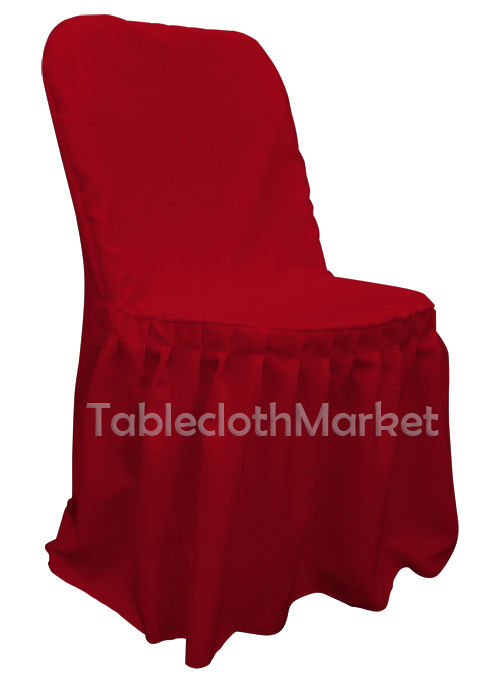 Incredible Chair Covers Pleated Polyester Wedding Party Decorations Folding Chair 24 Colors Creativecarmelina Interior Chair Design Creativecarmelinacom