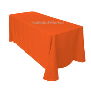 "10 pack 90""—156"" Tablecloths 100% Polyester 25 COLORS Wholesale Wedding Catering"""
