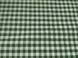 "Checkered Tablecloths 60""× 108""  Rectangular Gingham 100% Polyester 4 Colors"