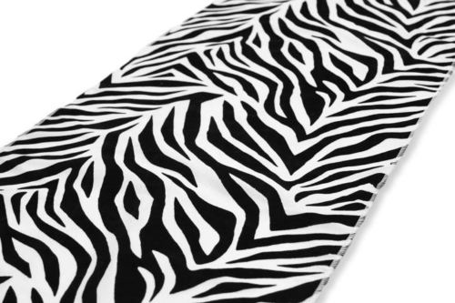 15 Pack Zebra Flocked Taffeta 12