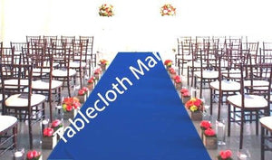 "30 Ft Satin Aisle Runner 60"" Wide 100% Seamless Fabric Wedding 20 Colors"