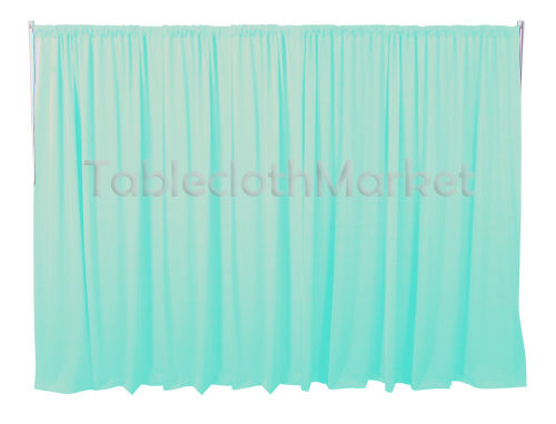 6 X 5 Ft Backdrop Background For Pipe And Drape Displays Polyester 24 Colors