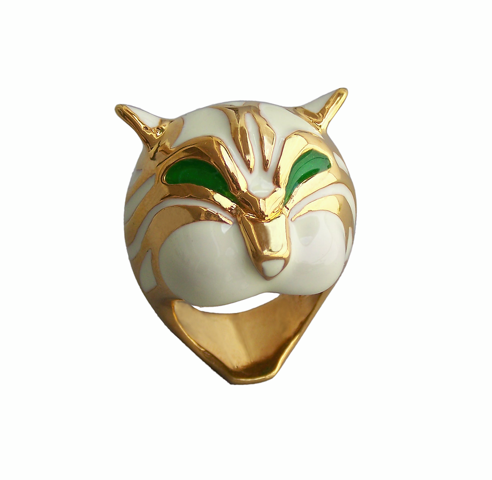 Eleonora Varini - Golden Tiger Ring