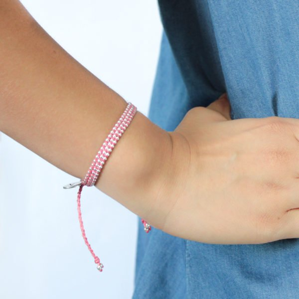 Wakami - Life is What… – Kiss Pink Bracelet
