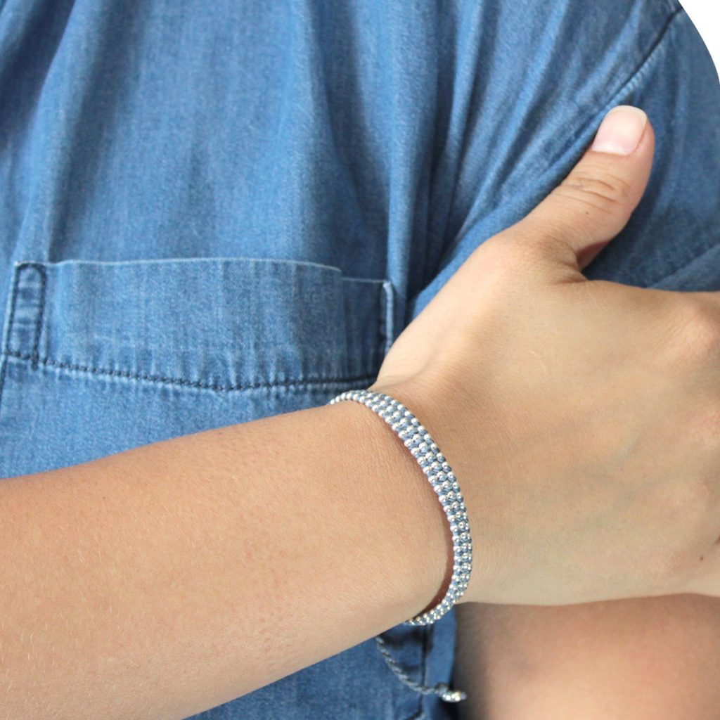 Wakami - Life is What… – Kiss Light Blue Bracelet
