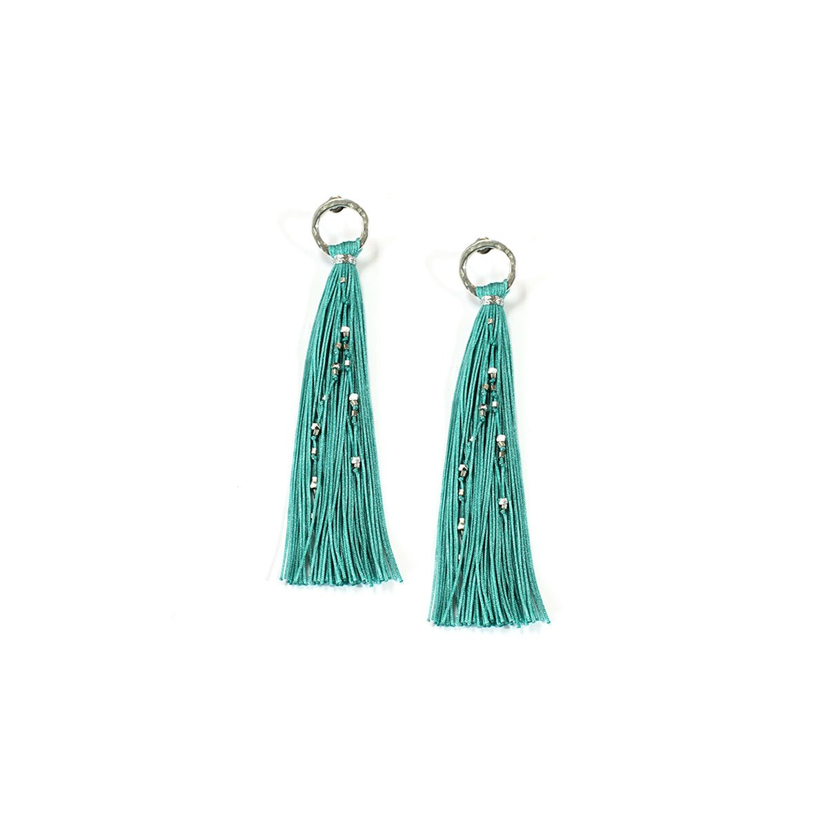 Wakami - Tassel Earrings - Turquoise