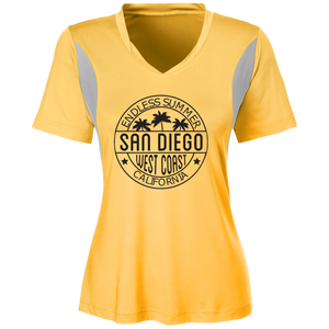 V-Neck Stylish Team 365 Ladies' All Sport Jersey