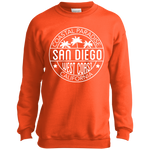 Trendy Premium Port and Co. Youth Crewneck Sweatshirt