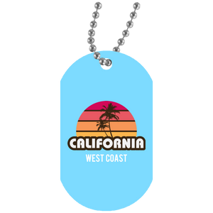 White Dog Tag Accessories