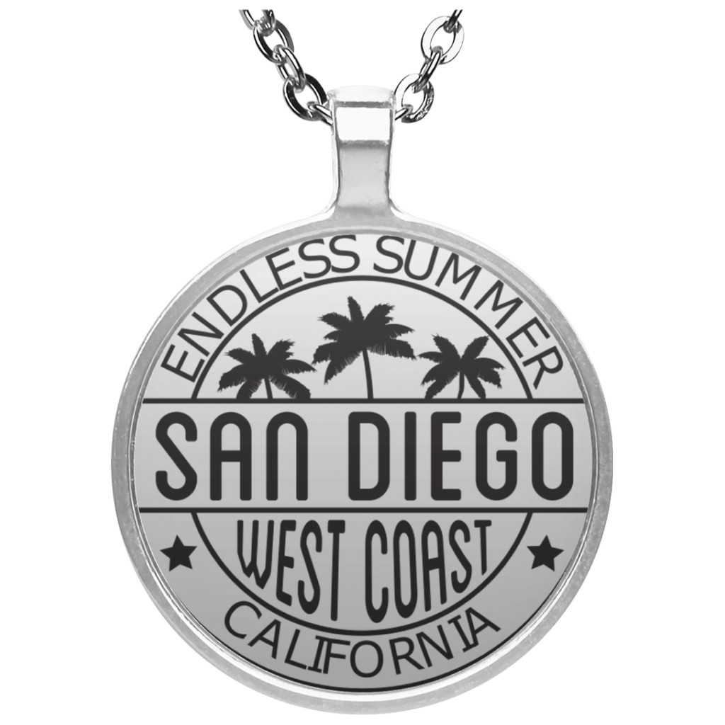 Endless Summer Circle Necklace