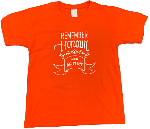 Orange T-Shirt - ADULT SM to XXXL