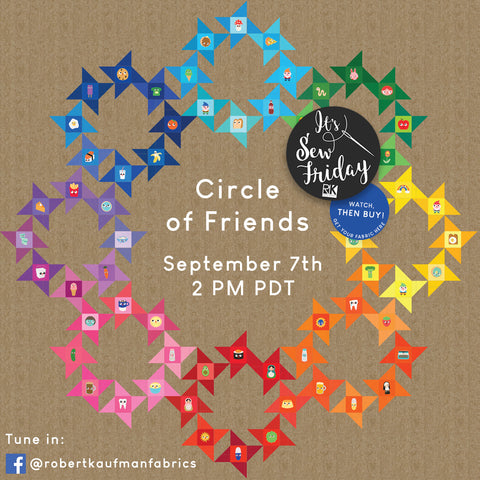 It's SEW Friday! Circle of Friends