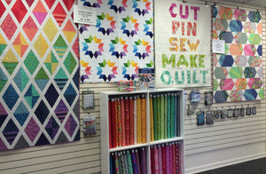 Jaybird Quilts Trunk Show featuring Tula Pink Fabric