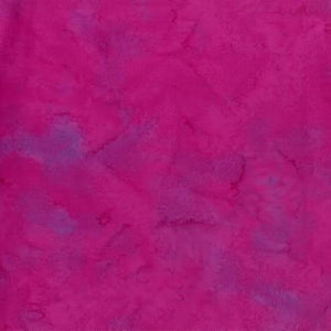 1895-72 Magenta Watercolor Batik