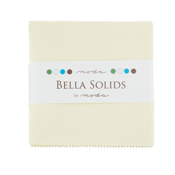 Bella Solids Charm Pack Sno Moda