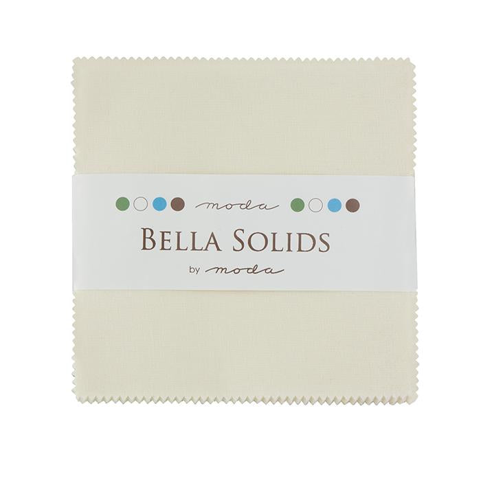 9900PP 60 Bella Solids Charm Pack - Ivory