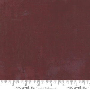 30150-297 Grunge Burgundy Basic Grey - Burgundy