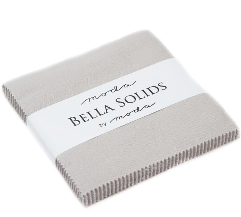 9900PP 83 Bella Solids Charm Pack - Grey