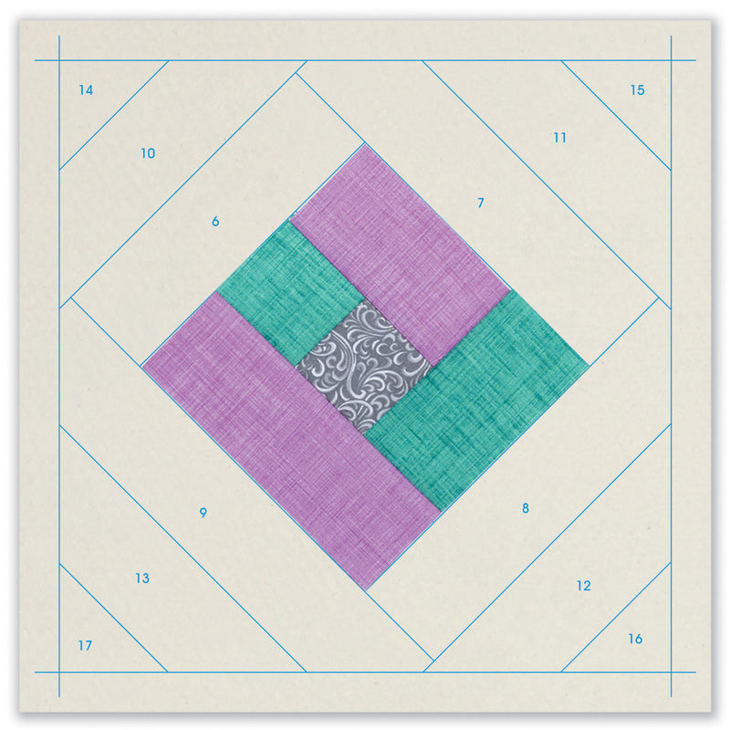 Quilt As You Go - London Labyrinth Quilt