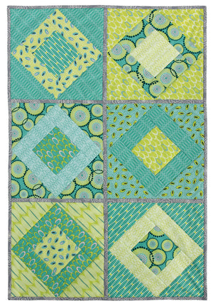 Quilt As You Go - Paris on Point Quilt