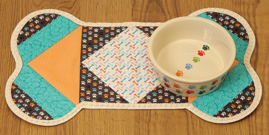 Quilt As You Go Pet Placemat – Dog