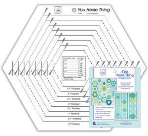 You Hexie Thing Hexagon Ruler