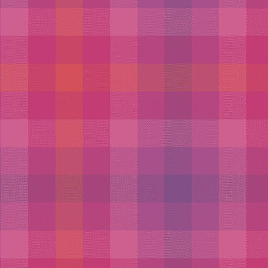 Kaleidoscope Stripes & Plaids WV-9541-Magenta