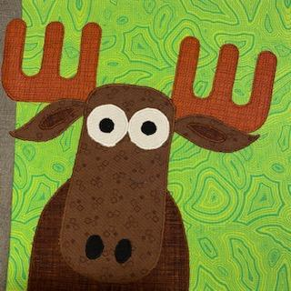 Micah the Moose Zootropolis Block Kit