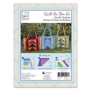 Quilt as You Go Tori Tote Bag