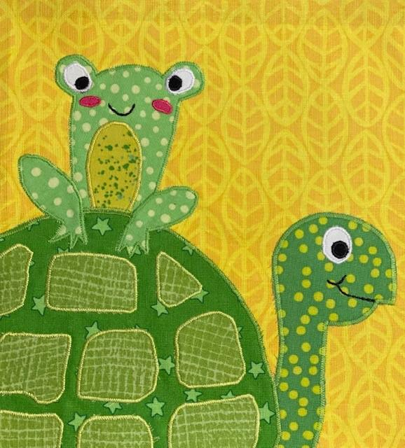Teddy Turtle and Freddy Zootropolis Block Kit