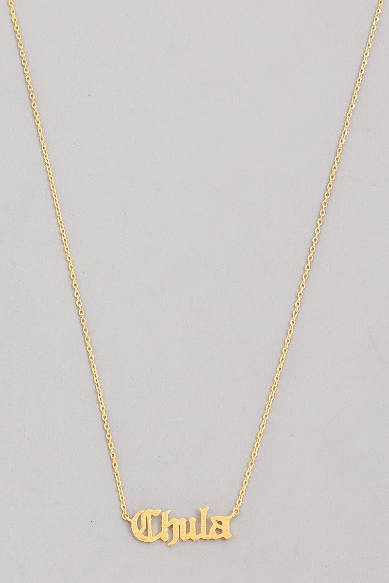 Chula Necklace - Fem Urbano
